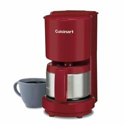 The Cuisinart Dcc 450 Is A Compact Little 4 Cup Coffee Maker From Cuisinart This Cuisinart 4 Cup Coffee Maker Can Be C Red Coffee Maker Best Drip Coffee Maker 4 Cup Coffee Maker