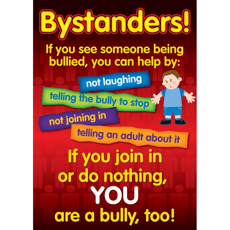 Bullying in a Cyber World Poster Set, Gr 25 by Didax