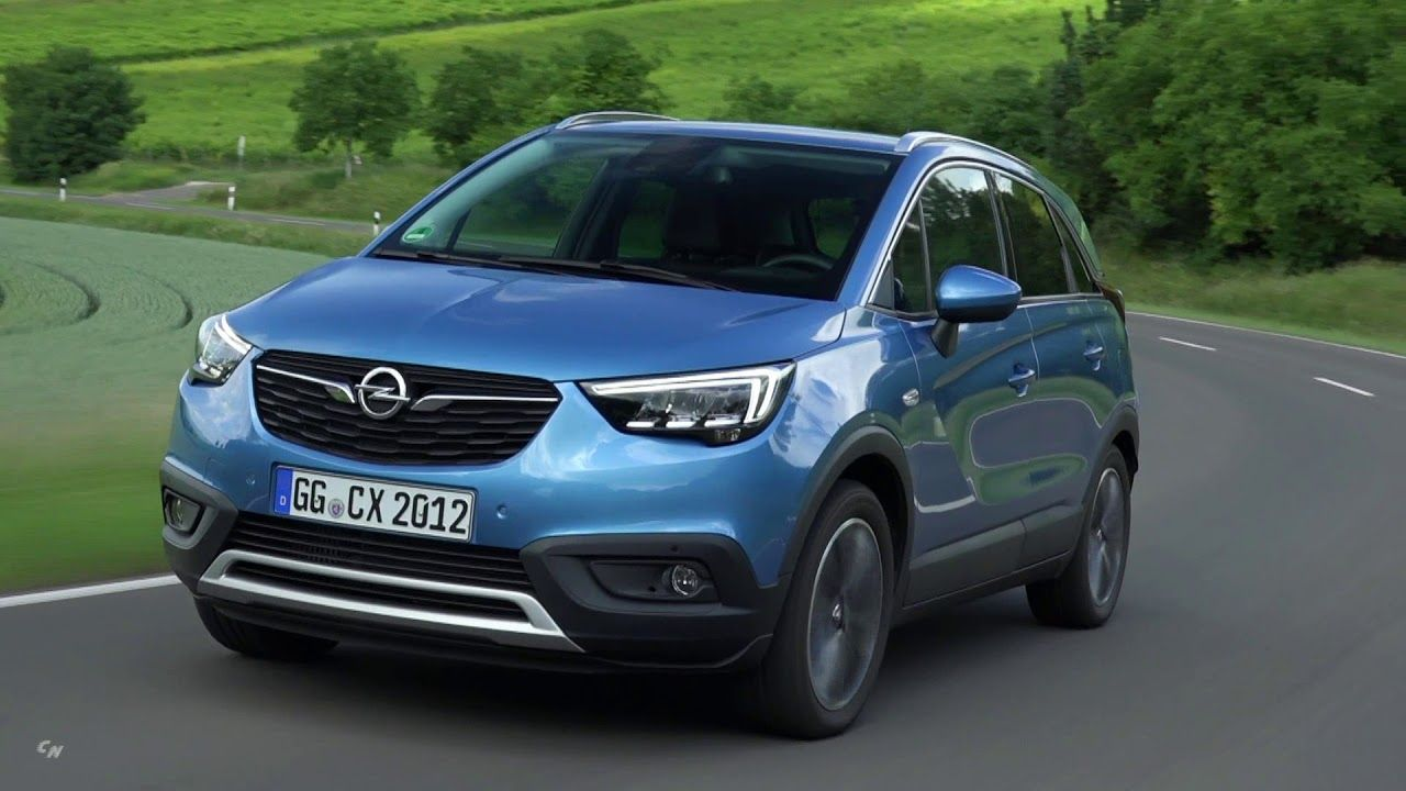 2019 Opel Crossland X Interior Exterior And Drive Opel Interior And Exterior Small Suv