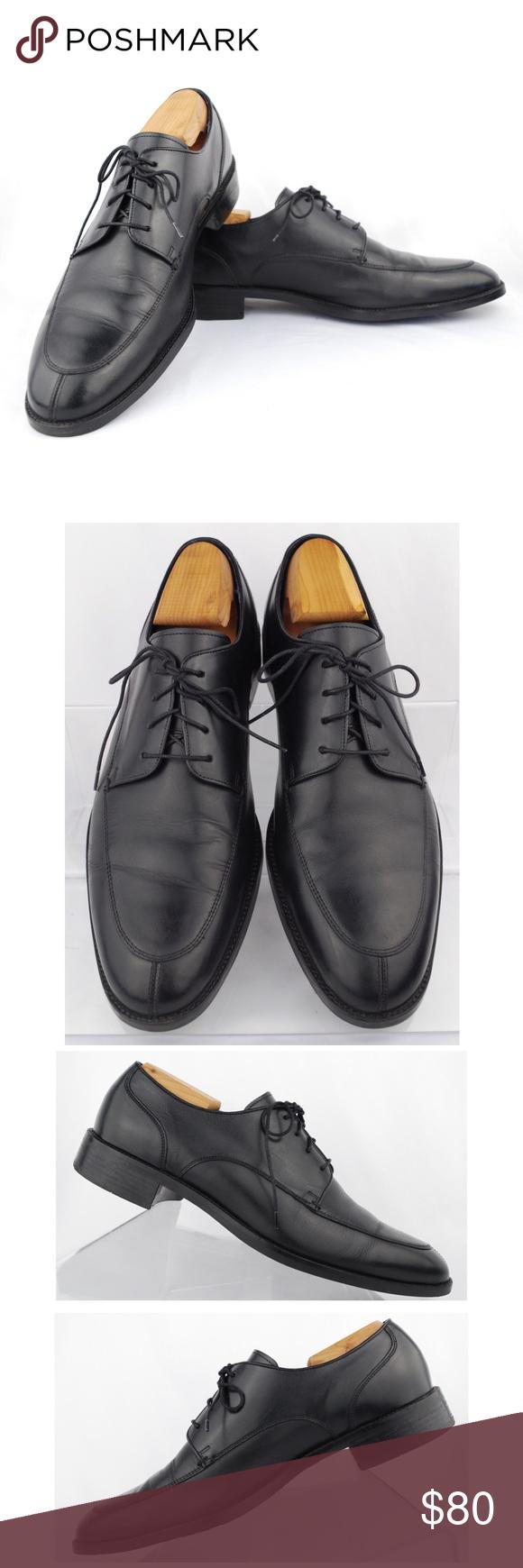 Cole Haan Men s Black Leather Split-Toe Oxfords Cole Haan C11627 Men s Black  Leather Split ac6d69b6bc2
