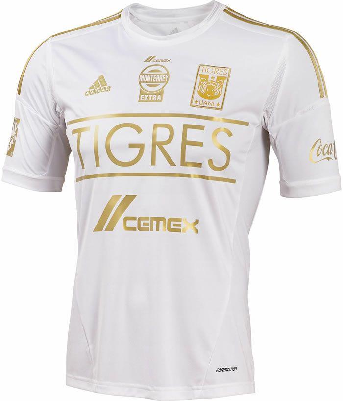 595dfbd6d45 Tigres UANL 2014 adidas Third Kit | Sport Shirts | Soccer shirts ...