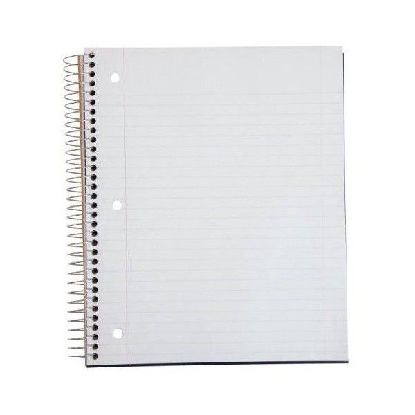 Paper.com: Paper: Five Star Wirebound Notebook, ... | Things to Wear ❤ liked on Polyvore featuring home, home decor, stationery and backgrounds