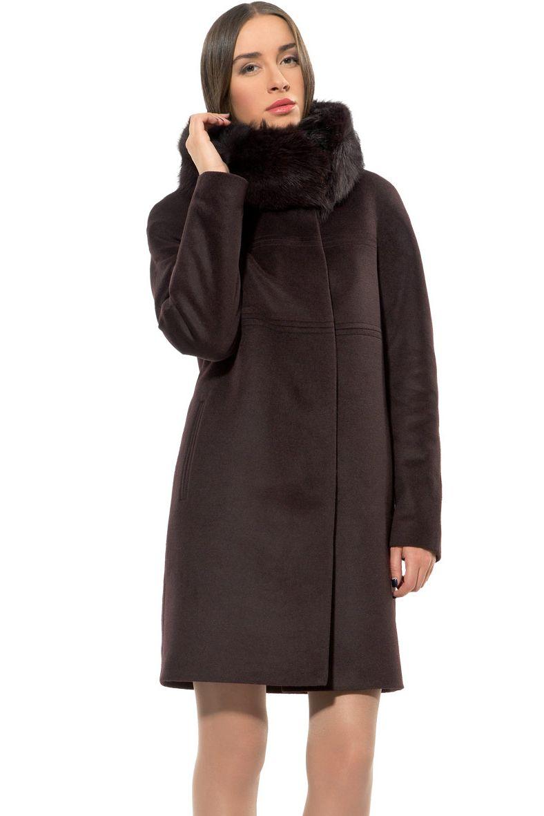 1299ab667 Пальто зимнее прямое COME PRIMA Арт.Z1447 | Купить по лучшей цене в интернет -