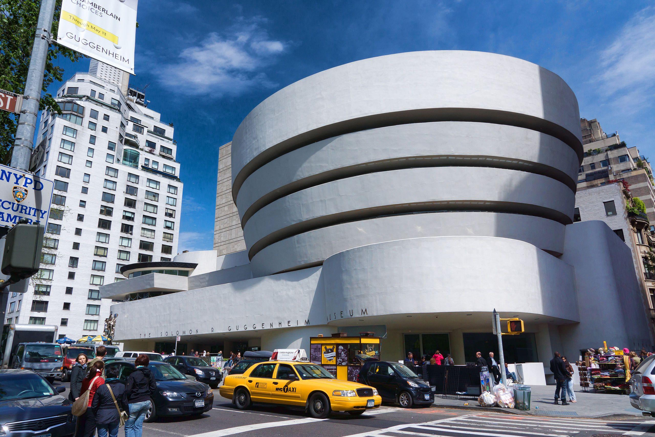 Solomon R Guggenheim Museum New York Museums Guggenheim Museum Frank Lloyd Wright Buildings
