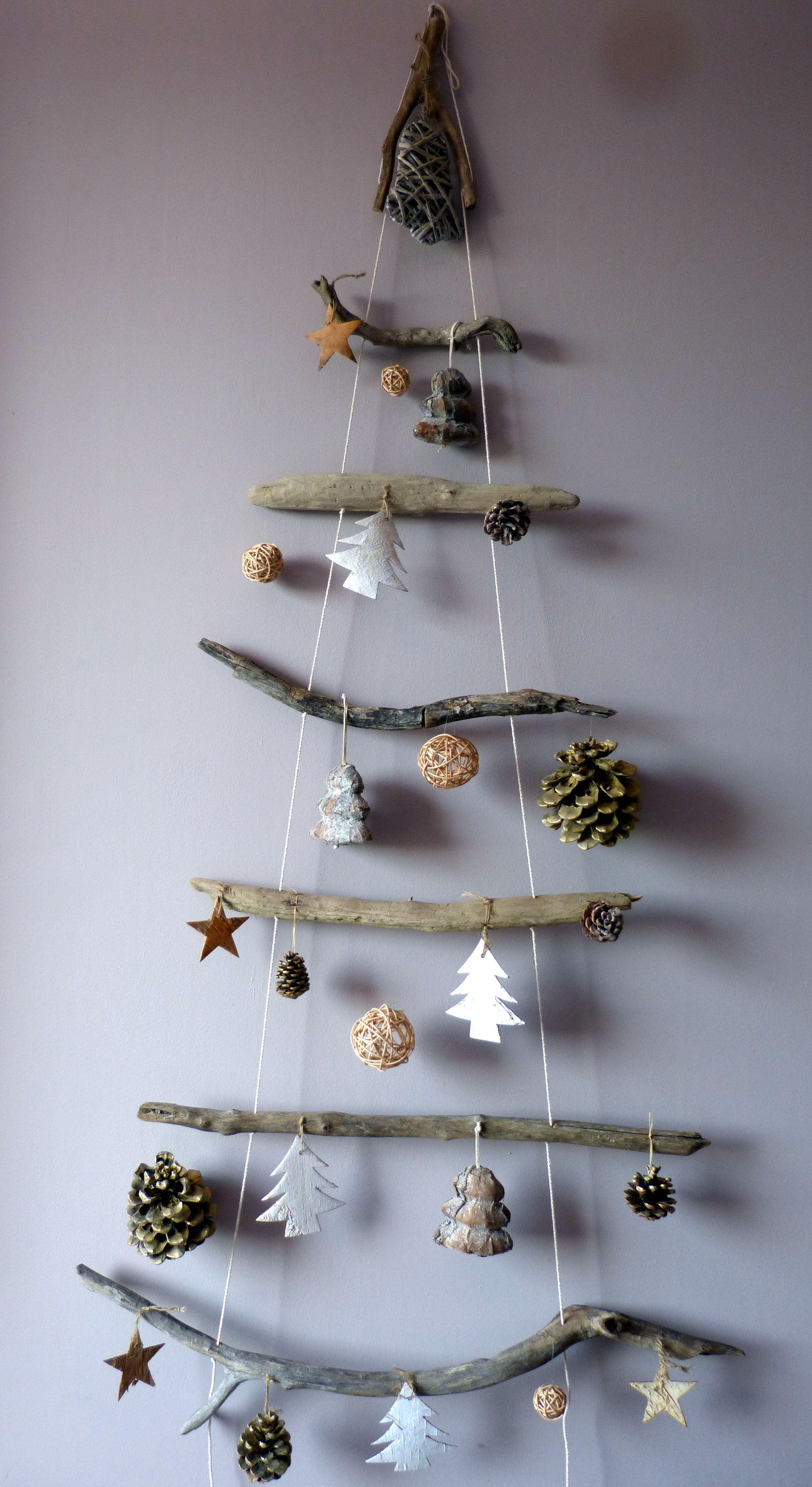 La Boutique De Mon Sapin De Provence Sapin Bois Flotte Deco Noel Decoration Noel Decoration Noel Fait Main