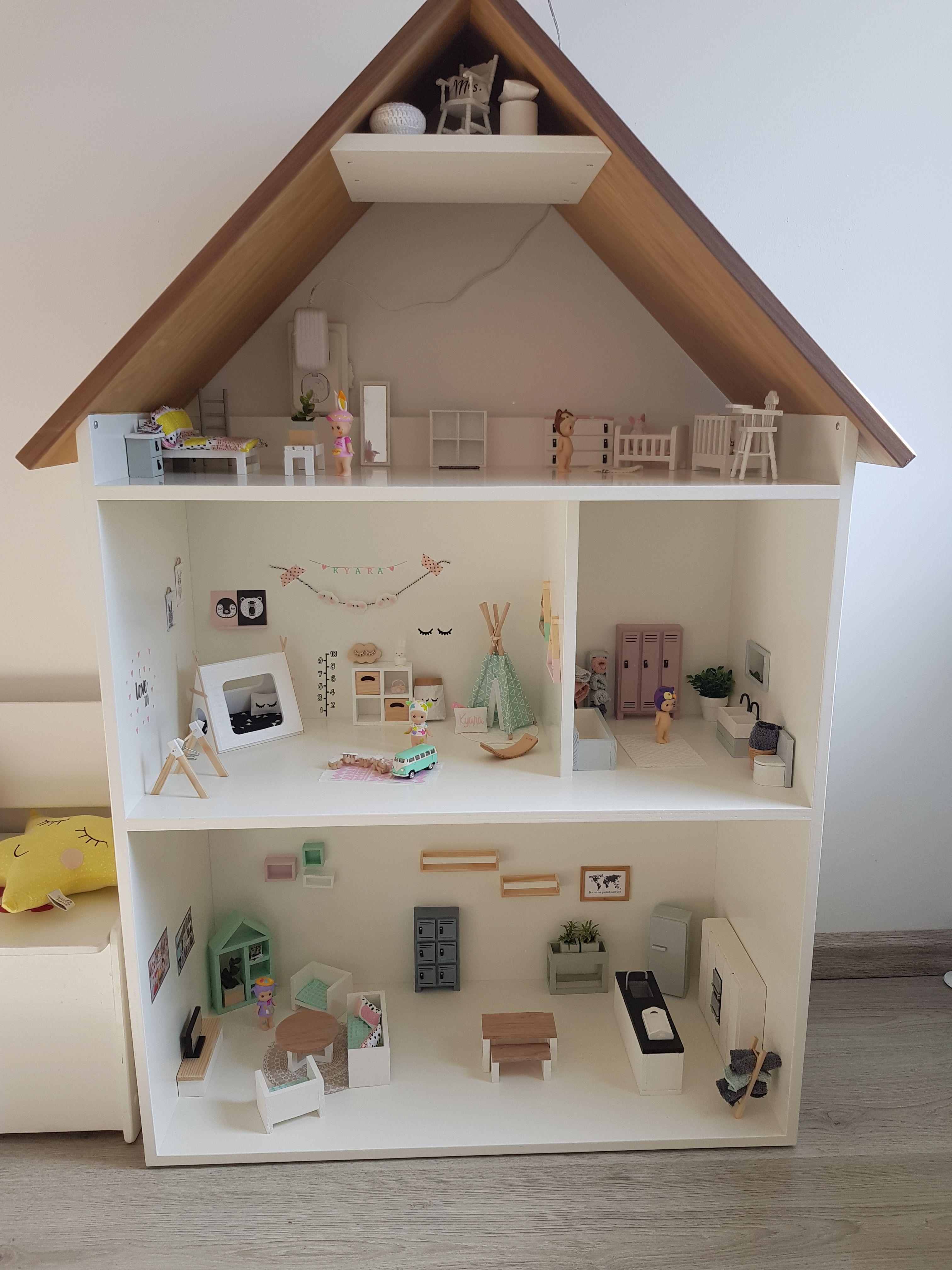 Wonderbaarlijk Groot houten poppenhuis #witpoppenhuis #houtenpoppenhuis #groot PG-49