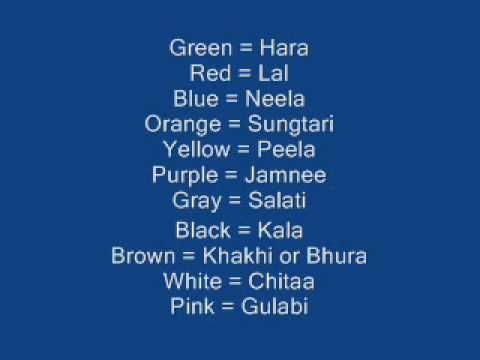 Learn meaning in punjabi