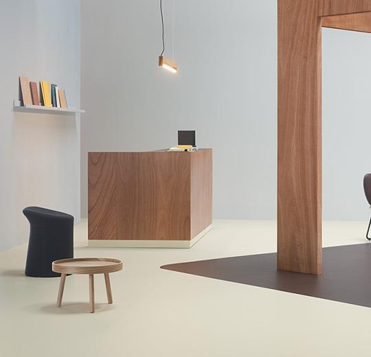 Marmoleum cocoa sol linoléum Forbo Flooring Systems