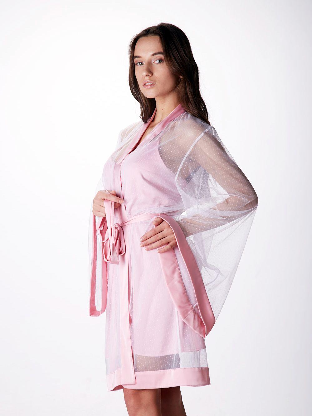 Sleepwear for woman sleepwear nightgown Bridesmaid pajama Chemise Silk clothing Bachelorette party pajama Pink silk slip