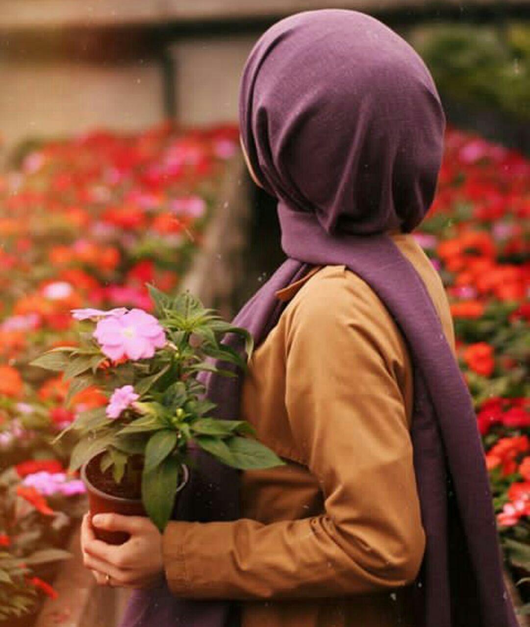 Pin By Rima On Hijab Islamic Girl Profile Picture For Girls Beautiful Hijab
