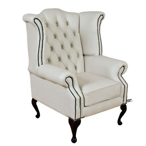 An Armchair That Is Designed To Suit Your Class, This UK Manufactured  Chesterfield Queen Anne Wing Chair Is An Ultimate Beauty.