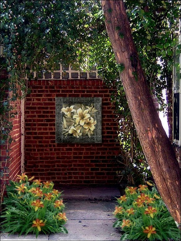 garden decor with paintings | Decor for the Outdoors - For ...