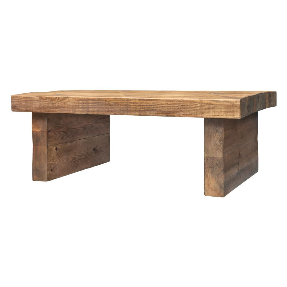 3 Inch Top Tall Coffee Table Handmade In The Uk From Solid Wood And Delivered To Your Door With Free Uk Tall Coffee Table Solid Wood Coffee Table Coffee Table