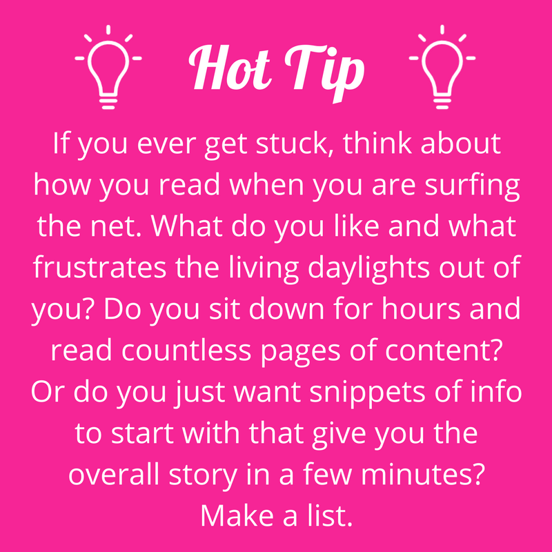 What sort of content do you read online? #writerstips #contentmarketing #wowwords #girlboss #Australia #Brisbane