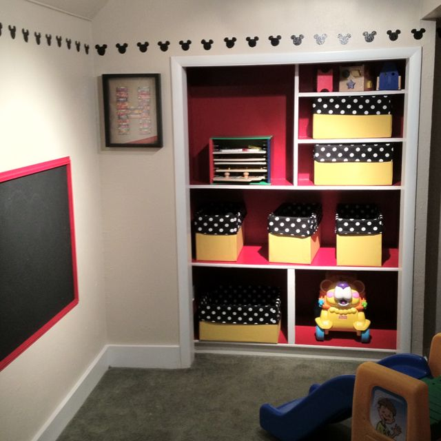 Finally Finished My Son's Playroom! The Border Was Made