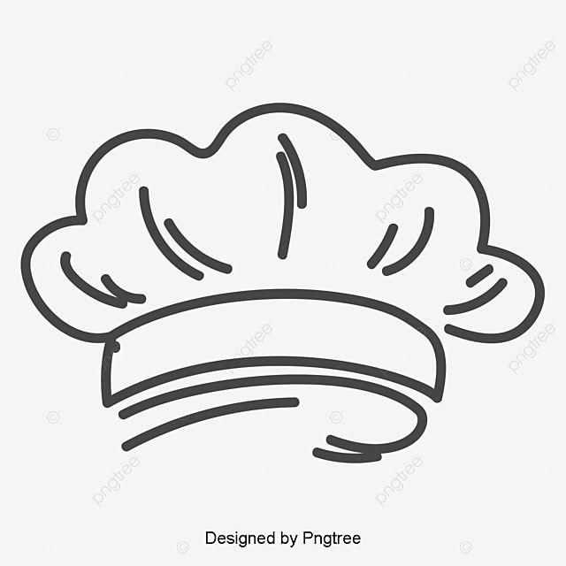 Chapeu De Chef Pintado A Mao Clipart De Chapeu De Chef Chefe De Cozinha Chapeu Imagem Png E Vetor Para Download Gratuito Koki Selamat Natal Desain Logo Restoran