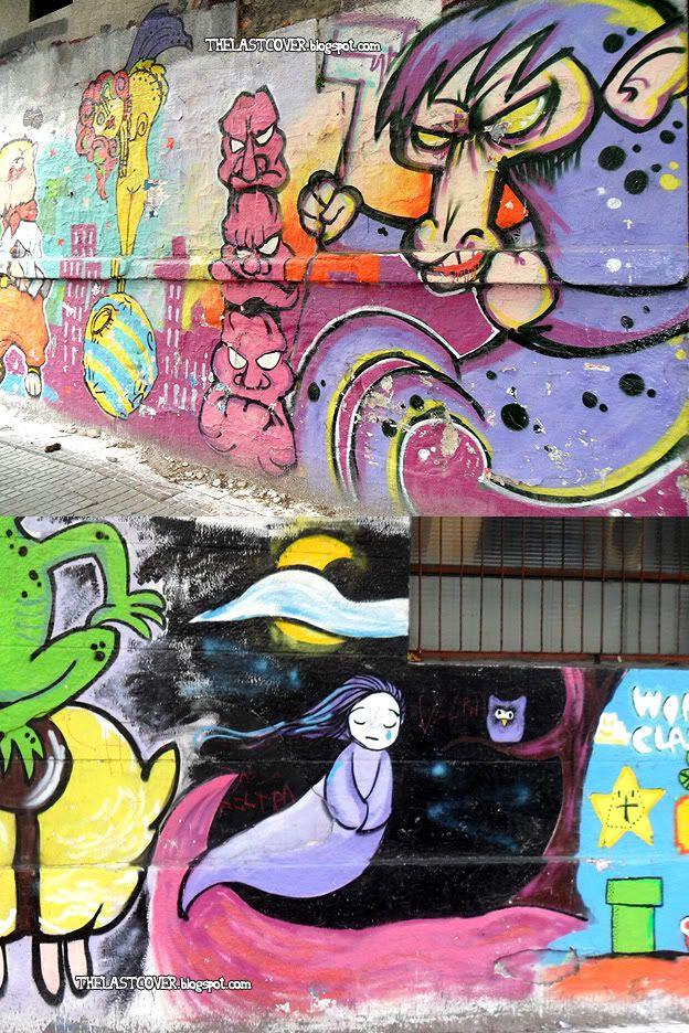 Ultra colorful Graffiti (Montevideo, Uruguay)