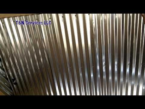 Barn Roof Ceiling Day 97 The Garden Home Challenge With P Allen Smith Youtube Metal Ceiling Corrugated Metal Metal Roof Installation