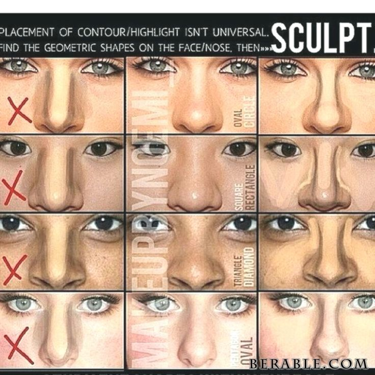 Photo of #ー #Cheat #contour #Makeup #Nose #shapes