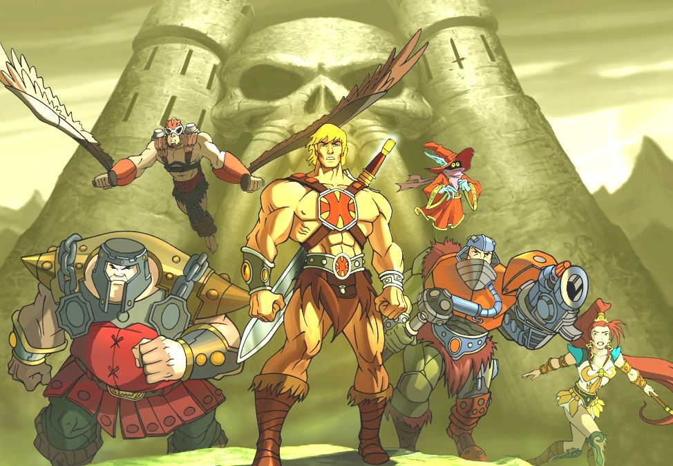 Heman masters of the universe masters of the universe