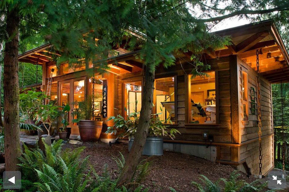 Nice Japanese meets west coast inspired timber frame On Vancouver