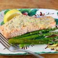 Easy Lemon Parmesan Baked Salmon | A Palatable Pastime