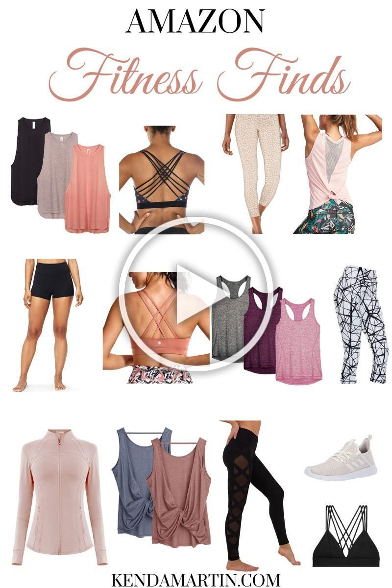Looking for cute and affordable active wear? Here's are some of the best fitness finds on Amazon! |...