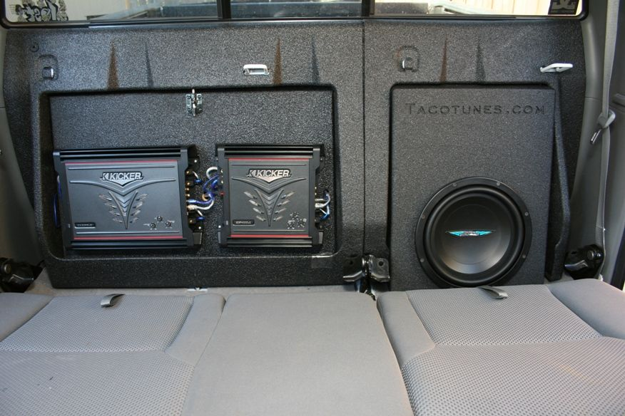 Toyota Tacoma Subwoofer Box Enclosure 2005 2006 2006 2007 2008 2009 2010 Tacoma Accessories Toyota Tacoma Accessories Toyota Tacoma