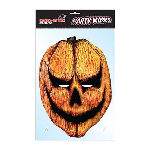 """Laadukas ja täysin aidon näköinen valokuvasta tehty pahvinen muotoon leikattu """"Halloween"""" naamio silmäaukoilla ja joustavalla kiinnitysnarulla. Koko noin 28cm x 20cm. Järjestä kunnon julkkisbileet ja hommaa naamarit kaikille!"""