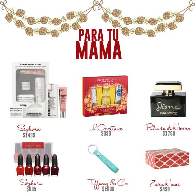 ideas de regalos de navidad para tu mama