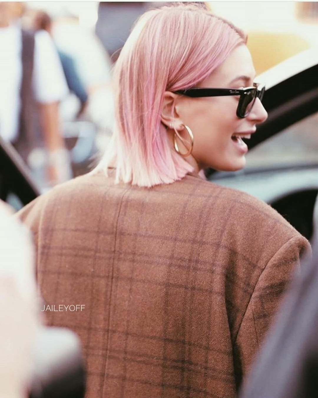 Justin And Hailey On Instagram Pink Hair Are Back Pink Hair Hair Hair Inspiration Color