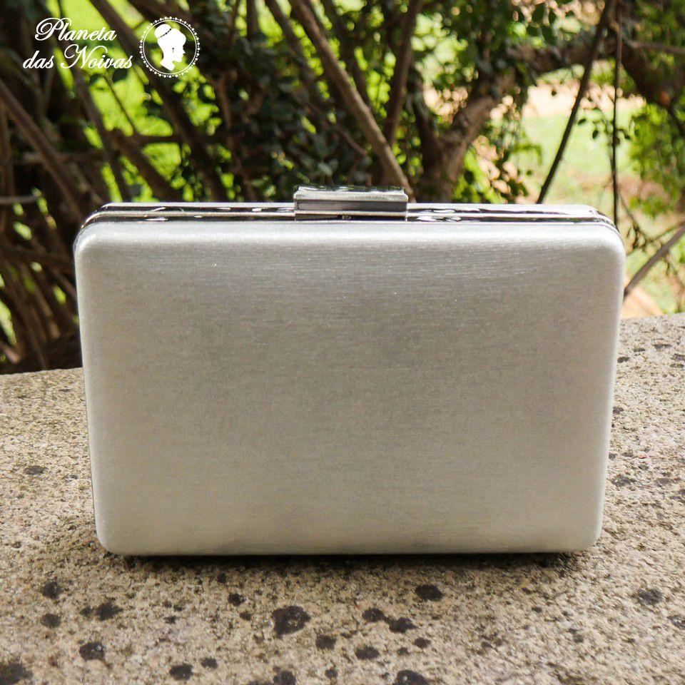 8c96320a46 Clutch com Design retangular Moderno