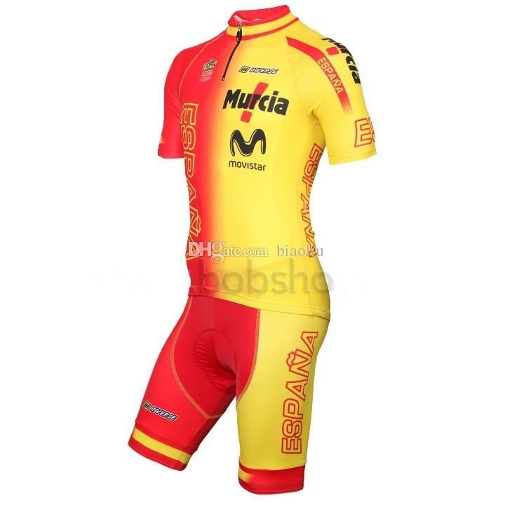 2015 Spain Team Cycling Jersey   Ropa Ciclismo 2015 Bike Jersey   Maillot  Cycling Clothes Biking Shorts Mountain Bike Gear From Biaoliu 3a5dd9437