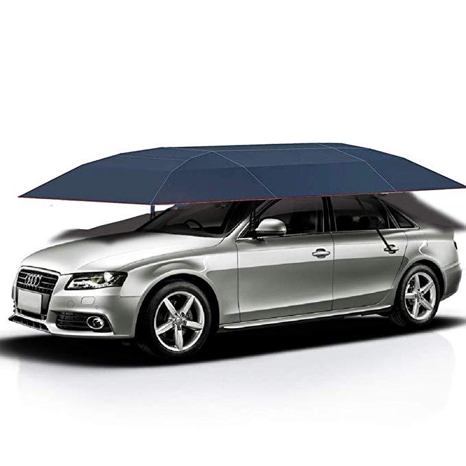Amazon.com : Jolitac Car Tent Semi-Automatic, Portable Car ...