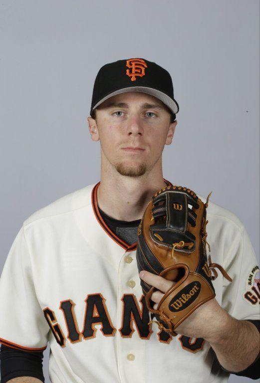 This is a 2015 photo of Matt Duffy of the San Francisco Giants baseball team.