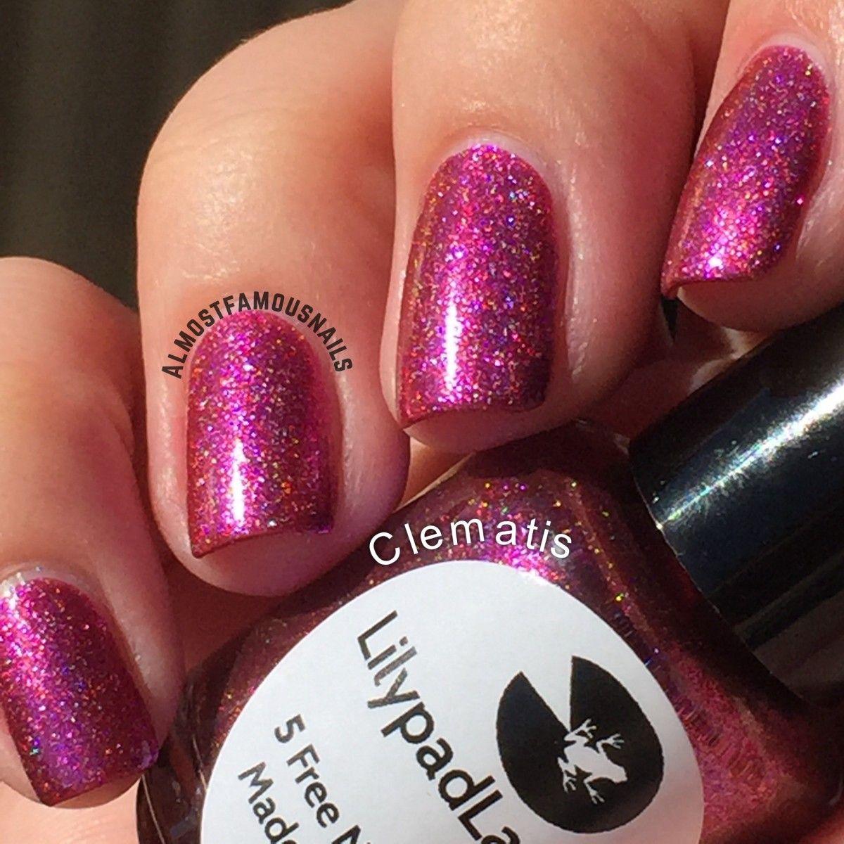 Lilypad Lacquer - Clematis LE | Lilypad Stash | Pinterest