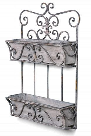 Pin On Iron Wall Planters