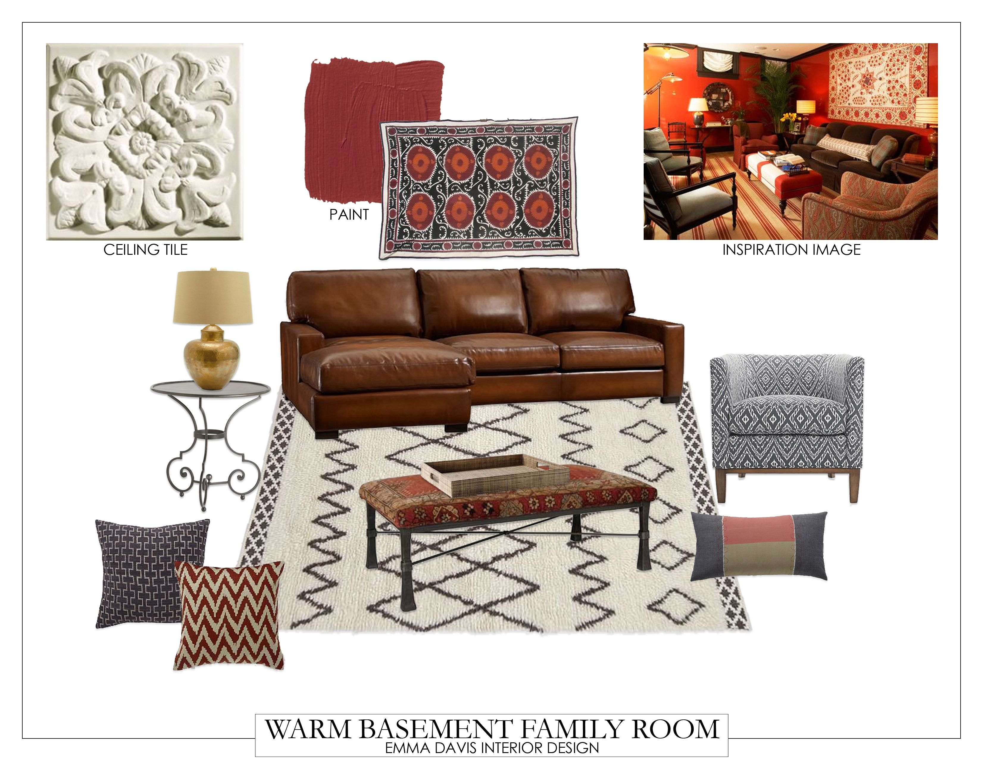 It's time to clean out the clutter and make use of your basement space! With this cozy basement-to-family room interior design guide, your new space is sure to be the ultimate crowd pleaser!