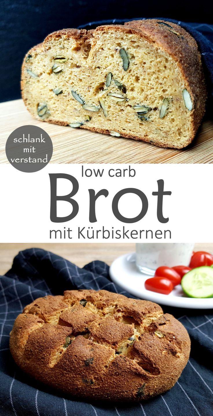 Low Carb Brot mit Kürbiskernen,  #Brot #Carb #dietplanmenu #Kürbiskernen #mit #pumpkinseedsrecipebaked