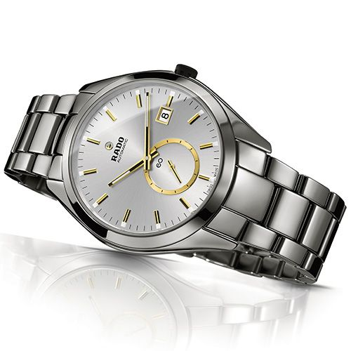 The latest male supermodel RADO HyperChrome Automatic Small Second (See more at En/Fr/Es: http://watchmobile7.com/articles/rado-hyperchrome-automatic-small-second) (3/7) #watches #rado
