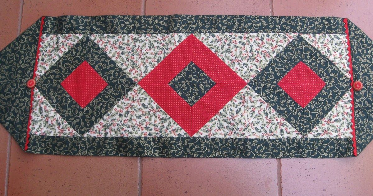 Vicki S Fabric Creations 10 Minute Table Runner Meets Tube Quilting Tutorial Uploaded Table Runner Pattern 10 Minute Table Runner Quilted Table Runners