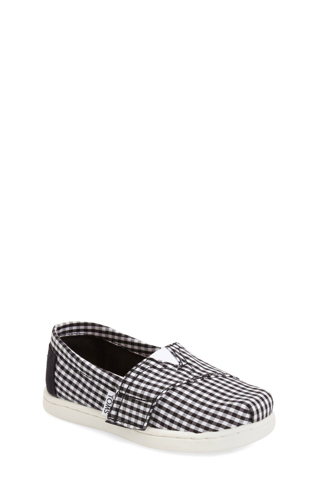 492548b1a57 TOMS Gingham Slip-On (Baby
