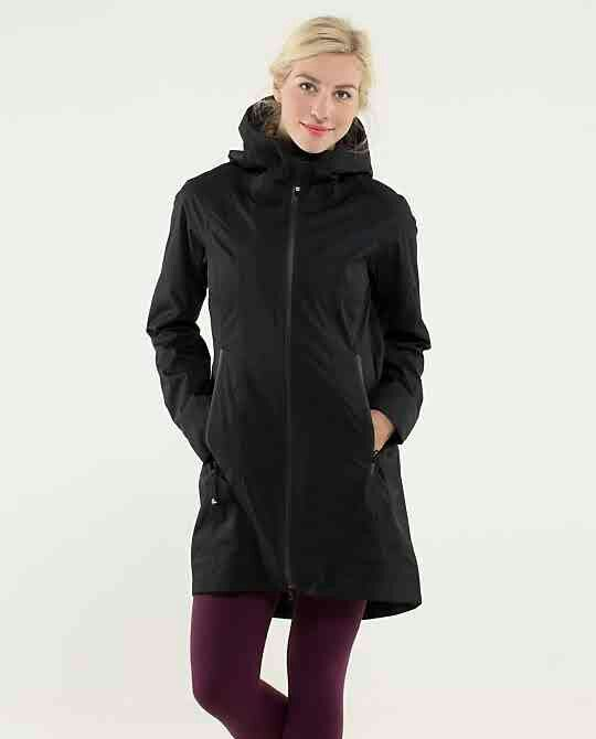 f8c7bbff2a Lululemon Right As Rain Jacket ~ Black ~ | Clothes & Such ...