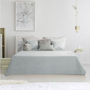 160x220 Tagesdecke Weiss Grau In 2019 Bed Spreads Home Home Decor