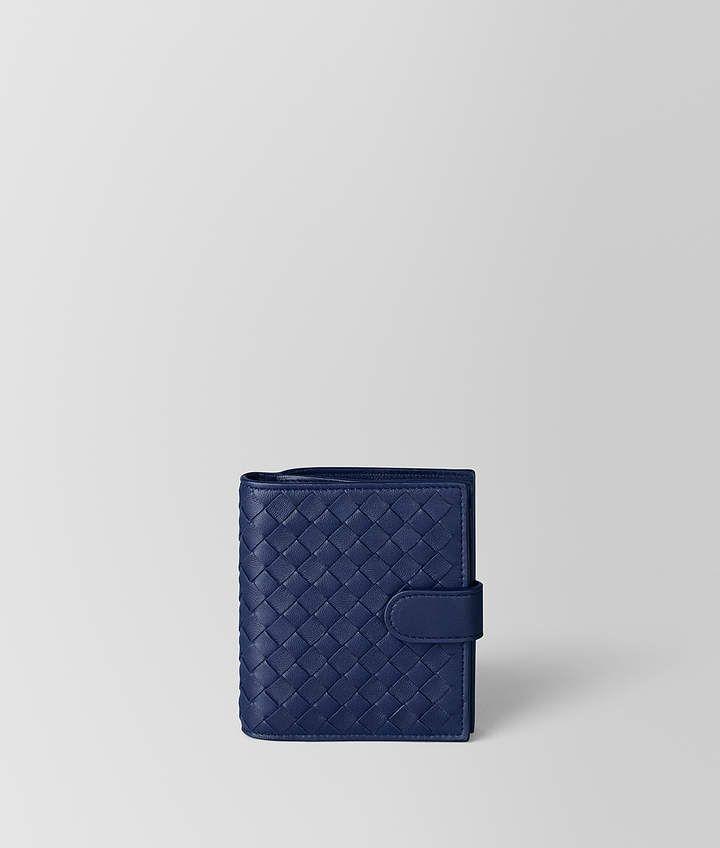 Bottega atlantic intrecciato nappa mini wallet