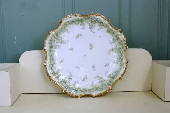 Hey, I found this really awesome Etsy listing at https://www.etsy.com/listing/263765786/bawo-dotter-elite-works-limoges-plate