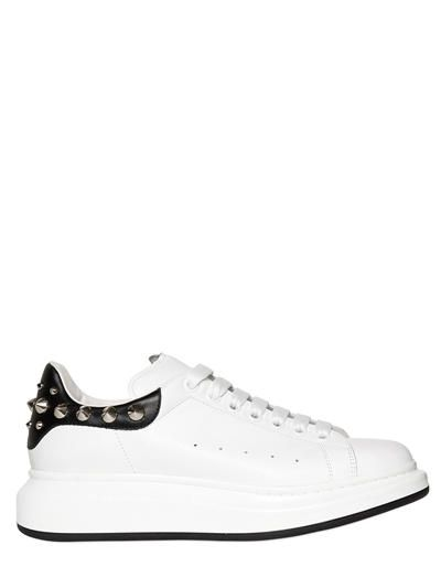 ALEXANDER MCQUEEN. Men SneakersLeather SneakersLeatherPlatform ...