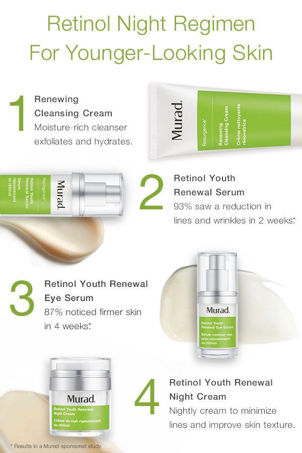 Retinol Youth Renewal Regimen | Anti-Aging Skincare in 2019