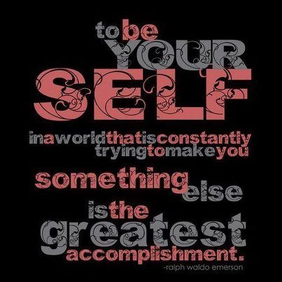 Funny Ralph Waldo Emerson – To be Yourself