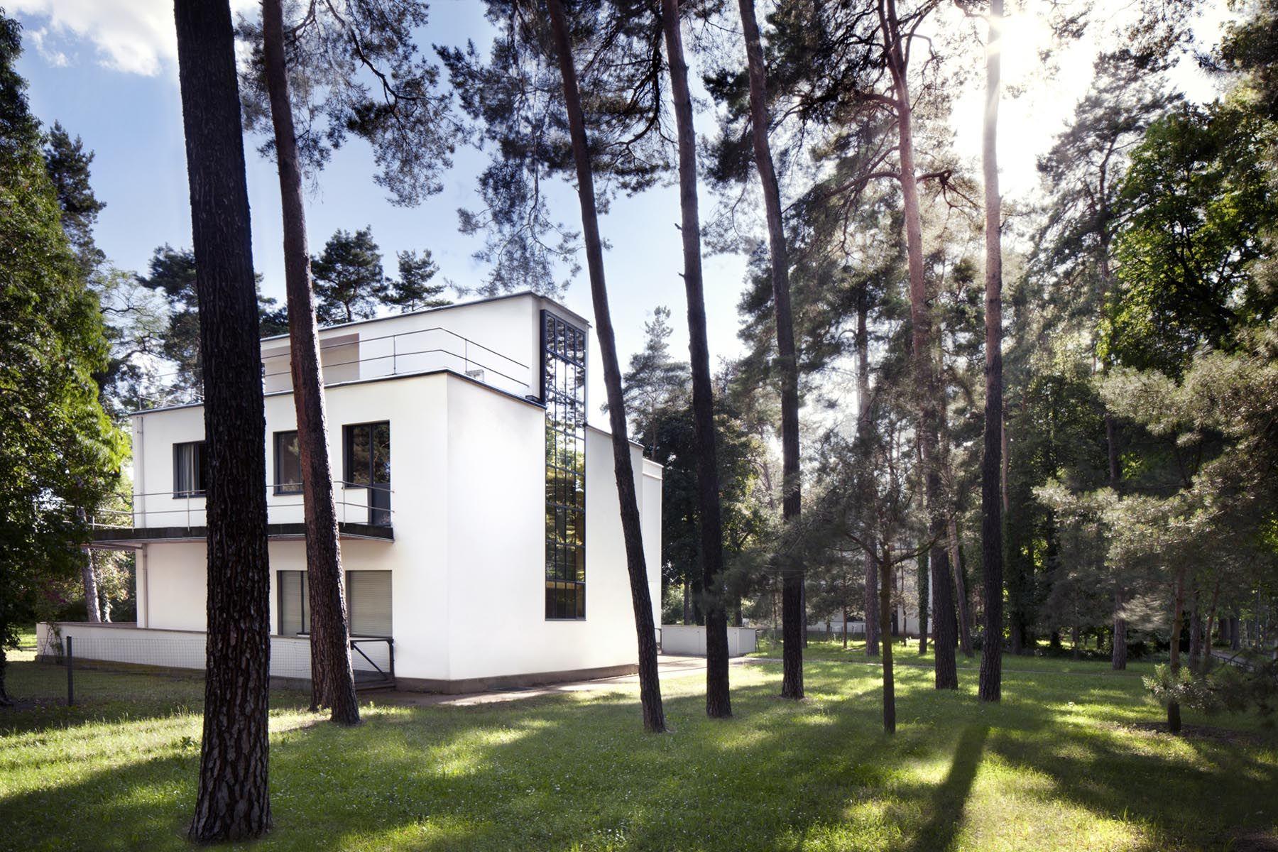 Meisterhaus In Der Bauhaus Meisterhaus Siedlung In Dessau